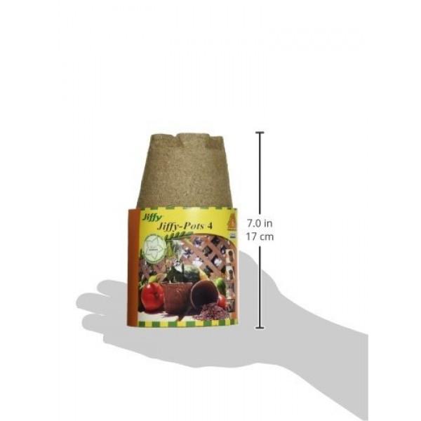 Jiffy Pots 4 Round 12 Pack