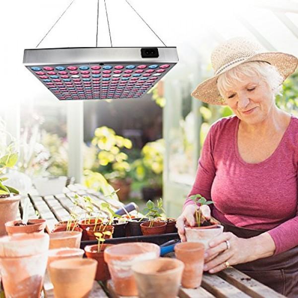 LED Grow Lights for Indoor Plants,Juhefa Panel Grow Lamp Full Spec...