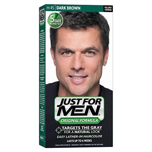 Just For Men Original Formula Men's Hair Color, Dark Brown (Pack o...