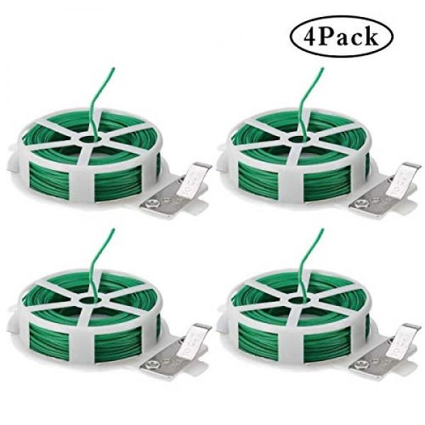 JYH 4x98 Feet Garden Twine Plastic Twine Plant Plastic tie Twist T...