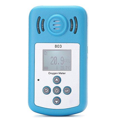 KKmoon Oxygen Meter Portable Oxygen(O2) Concentration Detector wit...