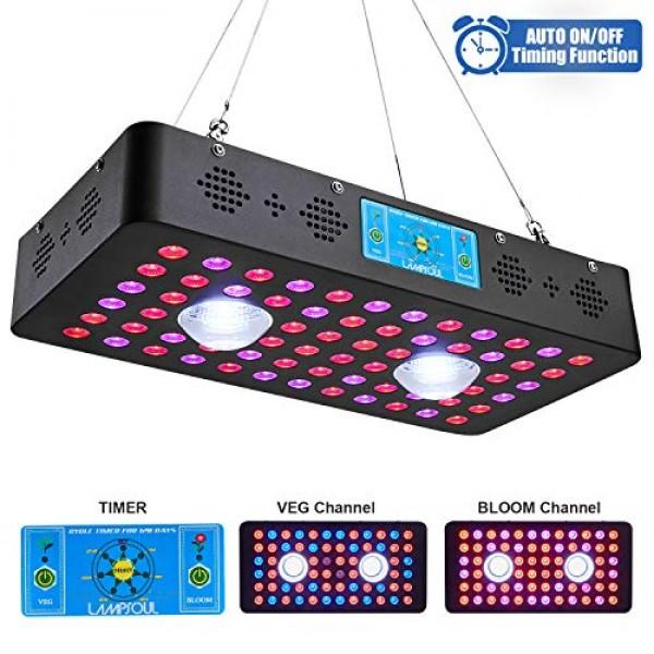 1200W COB LED Grow Light Full Spectrum LAMPSOUL LED Plant Growing ...