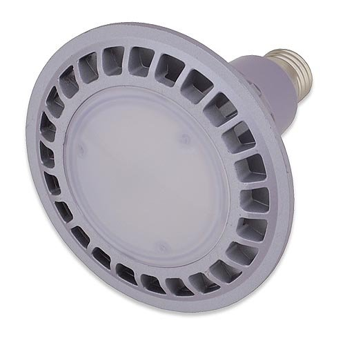 LEDwholesalers PAR38 Indoor Outdoor 16 Watt LED Flood Light Bulb, ...