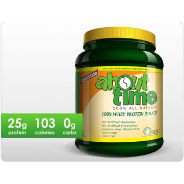 About Time 100% Whey Protein Isolate
