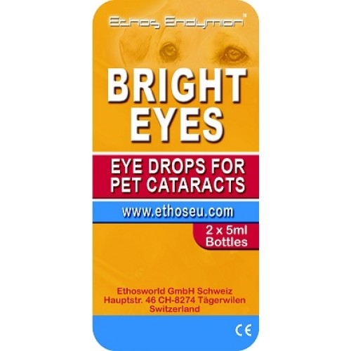 Ethos Bright Eyes Drops for Pet Cataracts