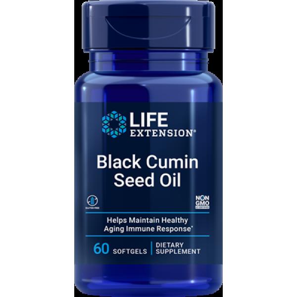 Life Extension Black Cumin Seed Oil, 60 softgels