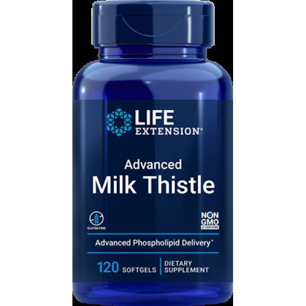 Life Extension Advanced Milk Thistle, 120 softgels