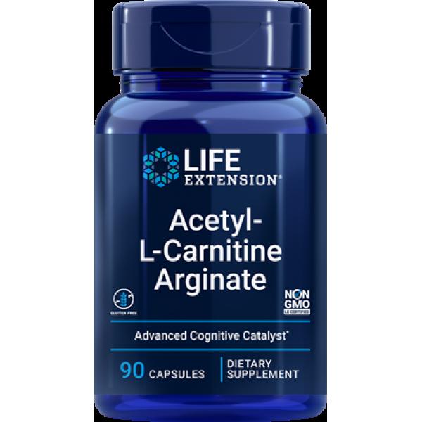 Life Extension Acetyl-L-Carnitine Arginate, 90 capsules