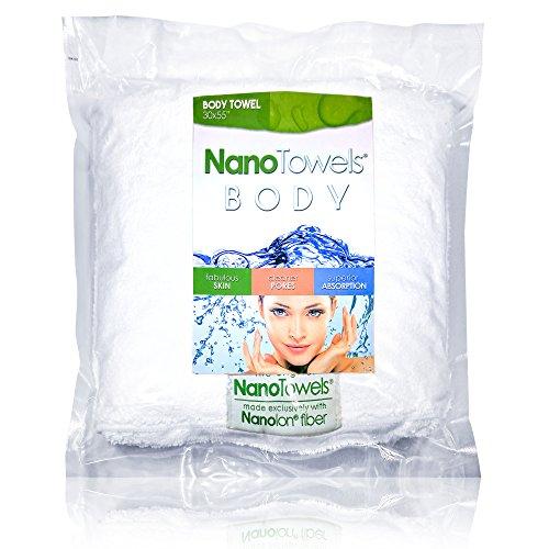 Nano Towels Body Bath & Shower Towel. Huge & Super Absorbent. Wipe...