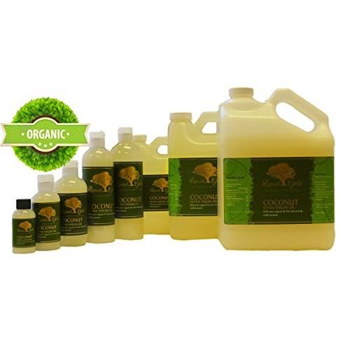 12 Oz Coconut Extra Virgin Oil 100% Pure Organic Moisturizing Oil ...