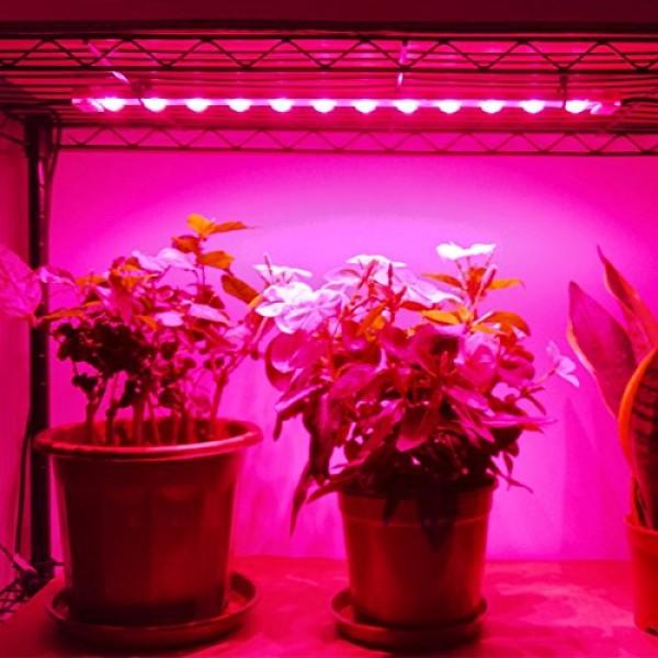 Grow Light Strip Kit 45W, 4 pcs 16 Inches LED Grow Light Strips wi...