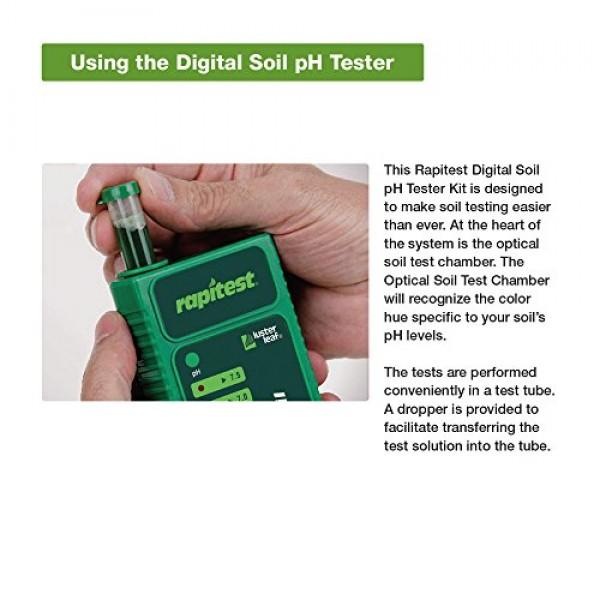 Luster Leaf 1606 Rapitest Digital Soil pH Tester