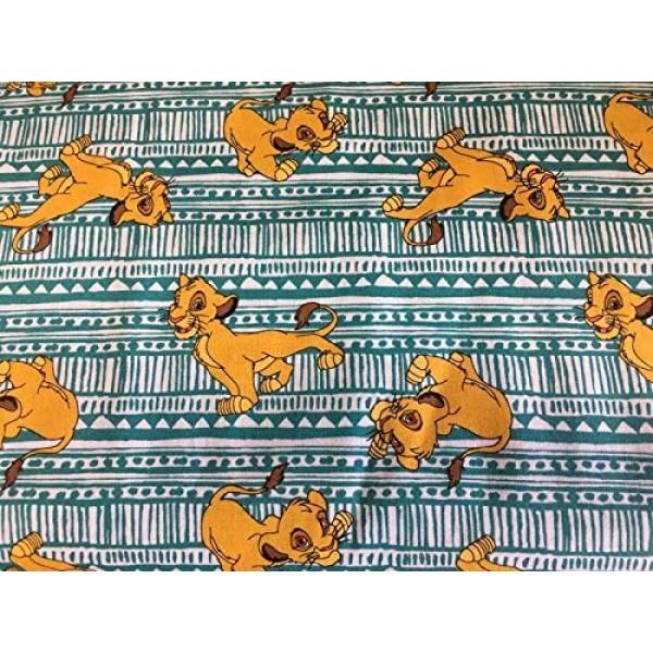 100% Cotton Fabric Cartoon Theme The Lion King- Simba