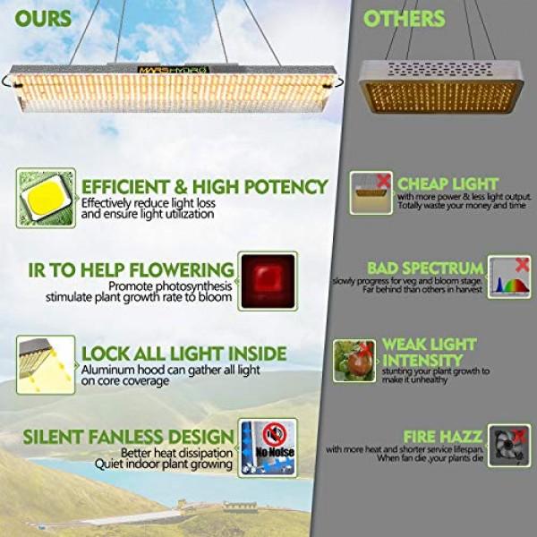 MARS HYDRO TSL 2000W Led Grow Light Full Spectrum for Indoor Plant...