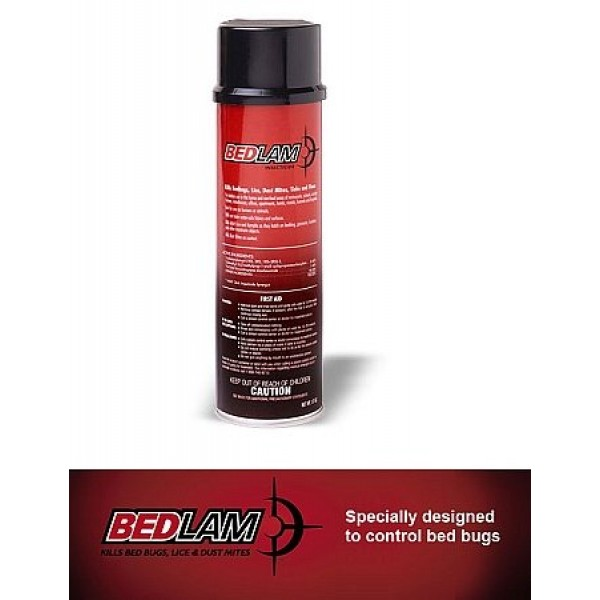 Bedlam Insecticide Spray - Kills Bed Bugs, Lice, and Dust Mites 1...