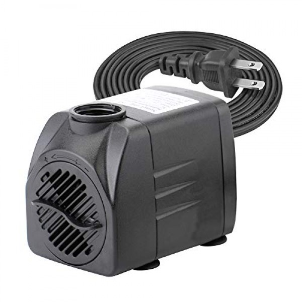 400 GPH Submersible Water Pumps for Aquarium, Tabletop Fountains, ...