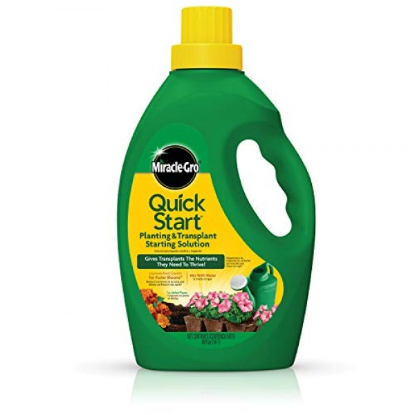 Miracle-Gro Quick Start Planting and Transplanting Starting Soluti...