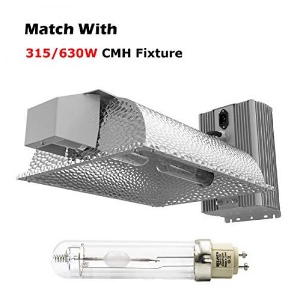 MIXJOY 315W CMH CDM Full Spectrum 3100K Ceramic Metal Halide Grow ...