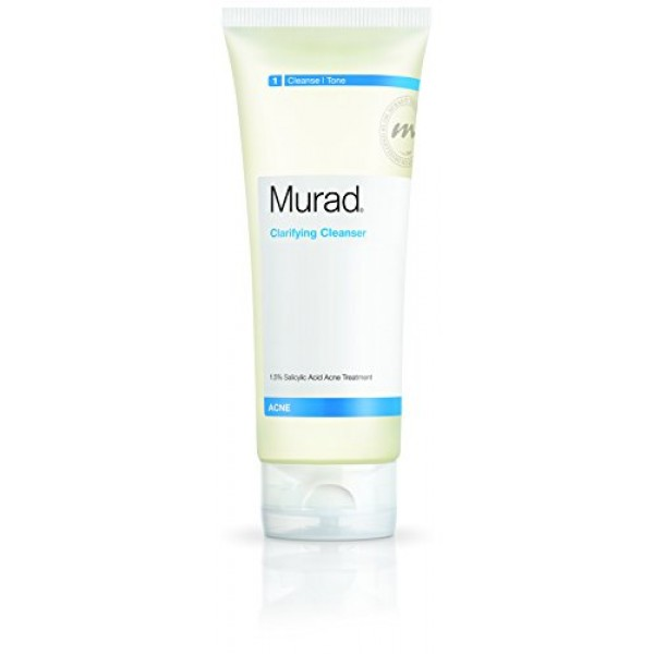 Murad Acne Clarifying Cleanser, Step 1 Cleanse/Tone, 6.75 fl oz 2...