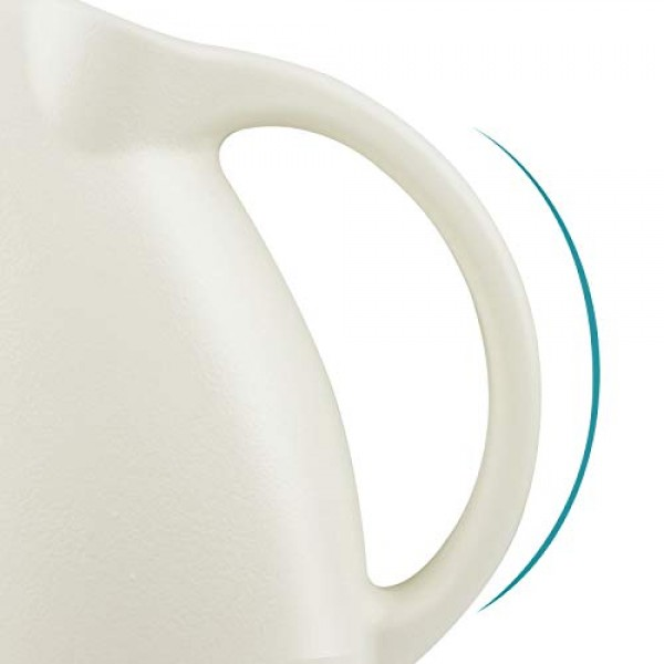 MyLifeUNIT Plastic Small Watering Can for Indoor Plants, 1/2-Gallo...