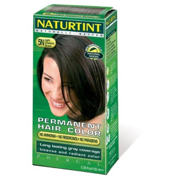 5N Light Chestnut Brown Naturtint Naturally Better 5.6 Fl oz