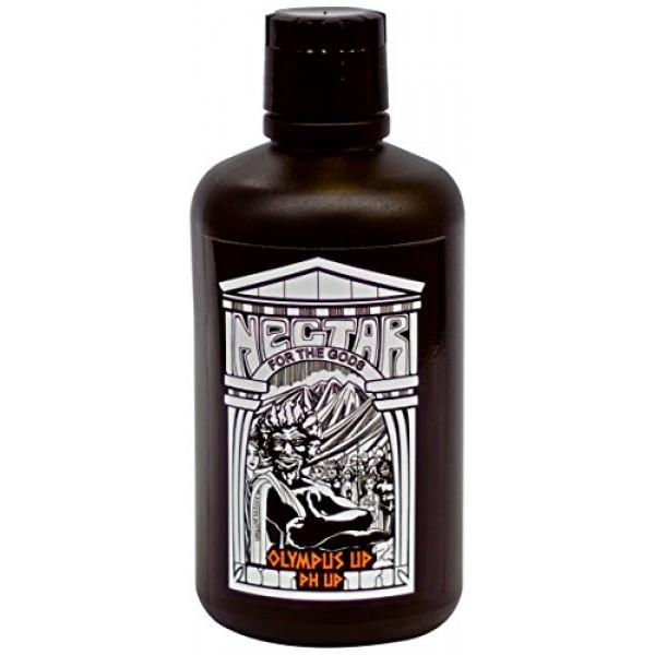 Nectar For The Gods 32 oz. Olympus Up Fertilizer, 1 quart, Black
