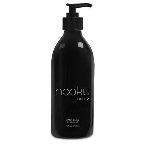 Lubricant - Personal Water Based Lube for Men, Women - Nooky Lubes...