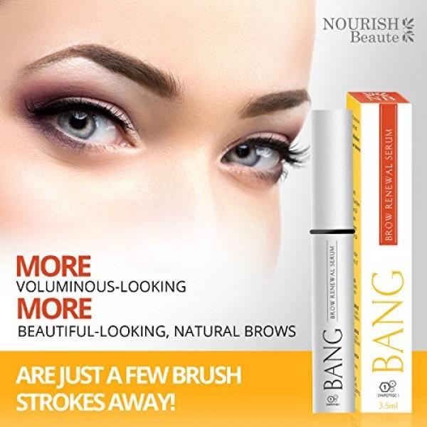 f6b4403618b Eyebrow Growth Serum – Get Perfect Bolder Brows w/Organic Argan Oi.