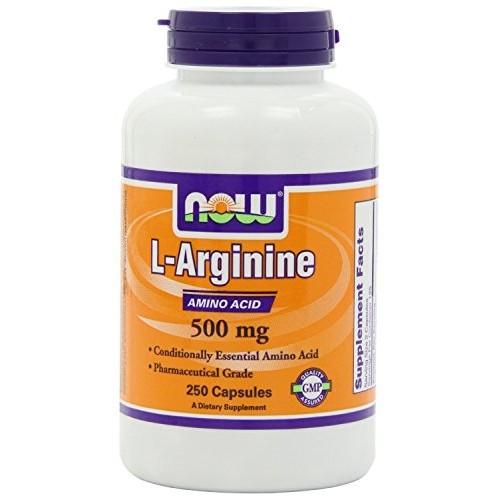 Arginine 1000mg - Now Foods - 120 Tablets Pack of 3