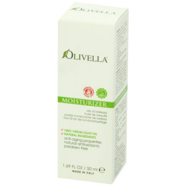 Olivella All Natural Virgin Olive Oil Moisturizer From Italy 50ml...