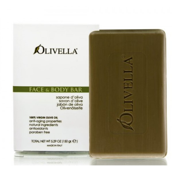 Olivella Face and Body Soap, Scented All-Natural 100% Virgin Olive...