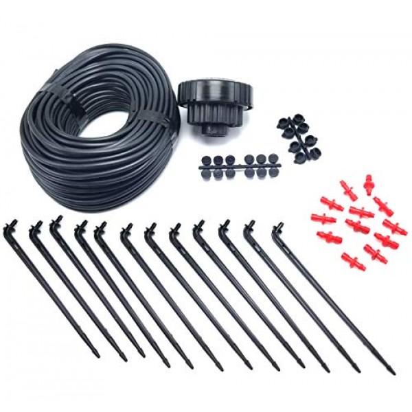 12 Plant Drip Grow Kit - Starter Hydroponics Irrigation Bubbler / ...