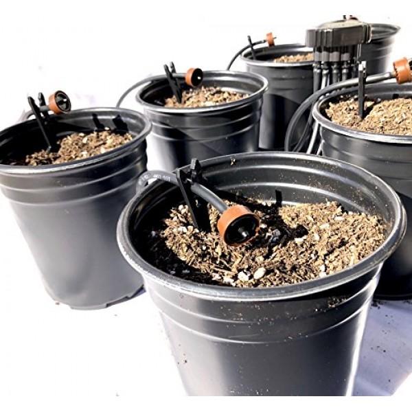 12-Plant Home Grow Kit - Great Starter Hydroponics Drip Irrigation...