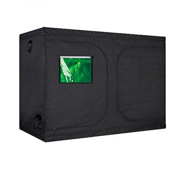 Oppolite 120X60X80 Mylar Hydroponic Grow Tent Room for Indoor P...