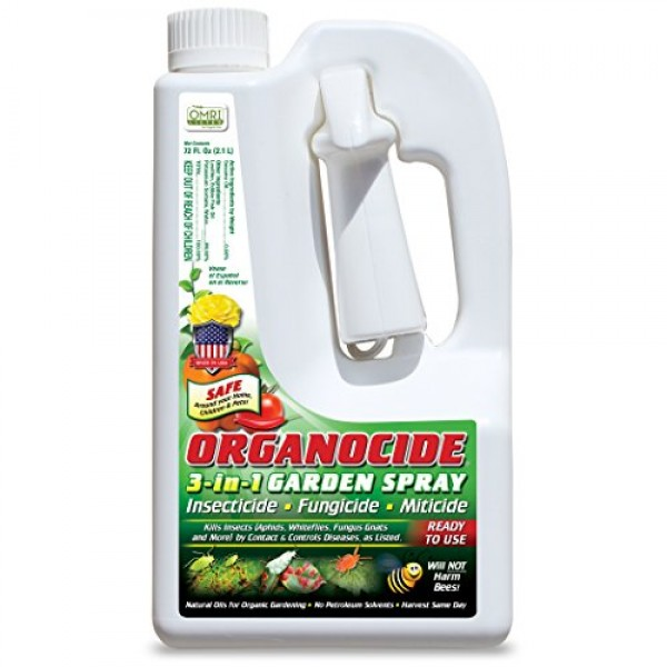 Organic Laboratories 100131 Ready-to-Use Organocide, 72-Ounce