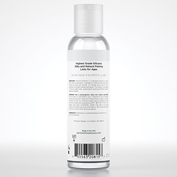 Intimate Lubricants for Sensitive Skin by Penchant Premium - Silic...