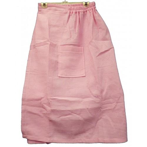 Pendergrass Cotton/Waffle Wrap, Light Pink, 60/40