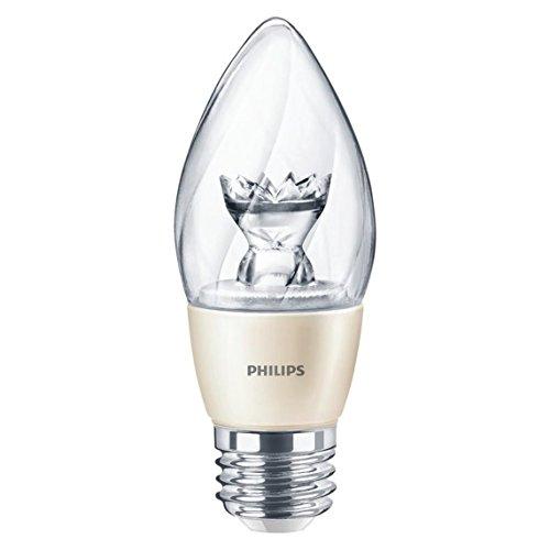(Case of 8) Philips 435180 6.5-Watt 2700K Clear E26 Medium Base LE...