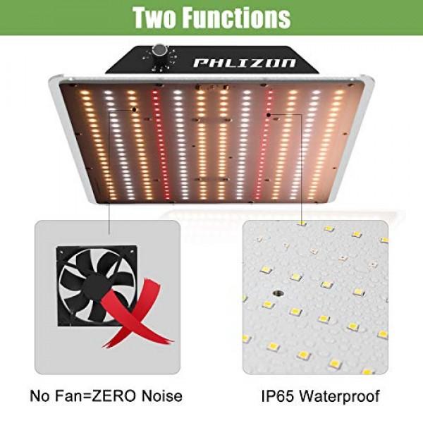 Phlizon Newest 1000W Series SMD Plant LED Grow Light Full Spectrum...