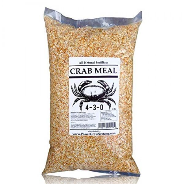 Crab Meal - Organic Natural Crab Meal Fertilizer 15 Pounds