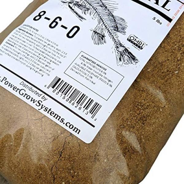 Fish Meal - Organic Fish Fertilizer 8-6-0 5 lbs