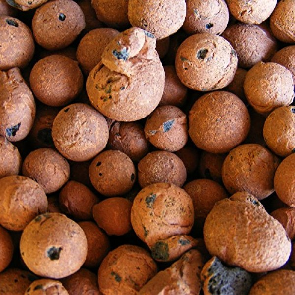 Hydro Clay Pebbles Leca Orchid/Hydroponic Grow Media - 10 lbs. ...