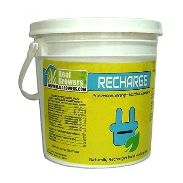 Real Growers Recharge Natural Plant Growth Stimulant 5 Pound