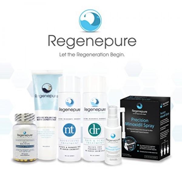 Regenepure - DR Shampoo, Hair and Scalp Treatment, Supports Hair G...