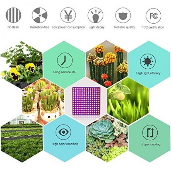 LED Grow Light, Roleadro 75W Grow Light for Indoor Plants Full Spe...