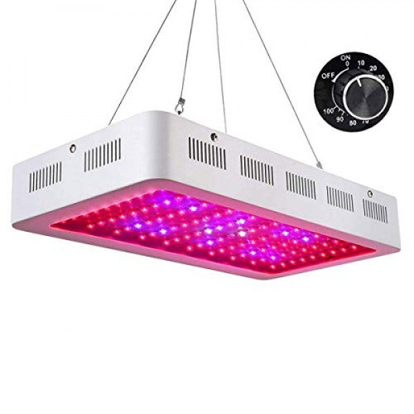 Roleadro Galaxyhydro Dimmable LED Grow Light, 1000W Indoor Plants ...