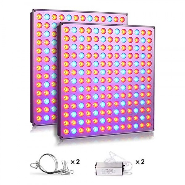 Roleadro LED Grow Lights for Indoor Plants, 75w Plant Lights with ...