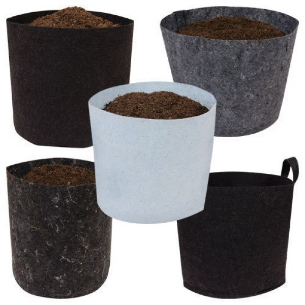 Root Pouch Degradable Pot Bundle of 10, 7 Gallon - 3 - 4 Year