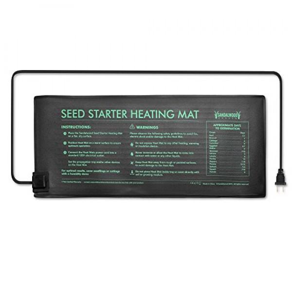 Seedling Plant Heat Mat For Indoor & Outdoor Home Gardening - Wate...