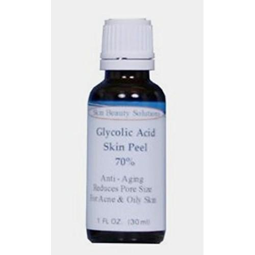 (1 oz / 30 ml) GLYCOLIC Acid 70% Skin Chemical Peel - Unbuffered -...